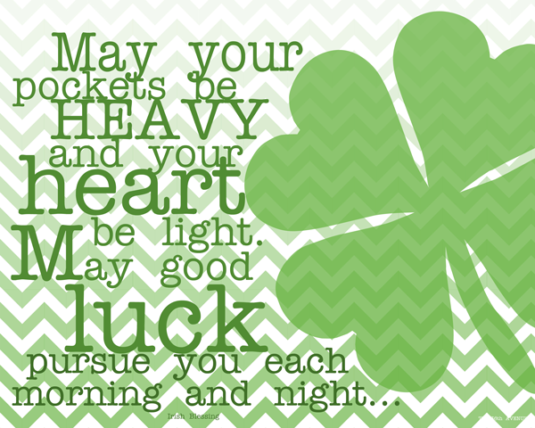 St Paddy's Day Blessing