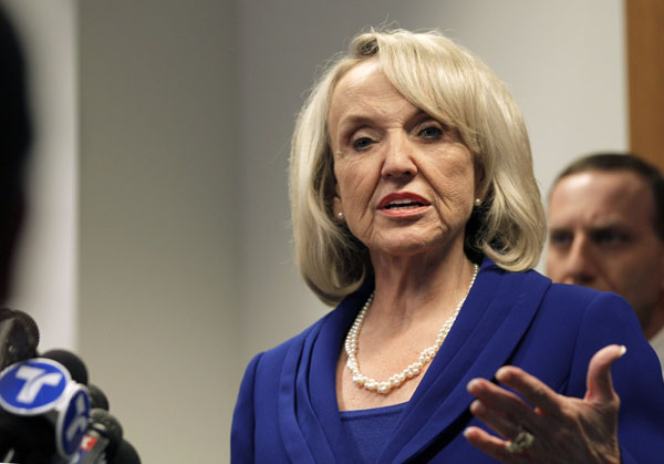 AZ Gov Jan Brewer